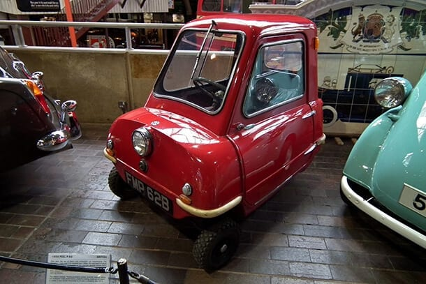 Peel P50 - Smallest car in the world