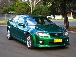 Holden Commodore VE on Tarmac